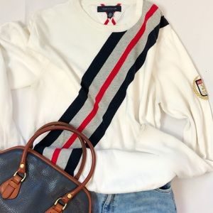 80s/90s Tommy Hilfiger crew neck Sweater